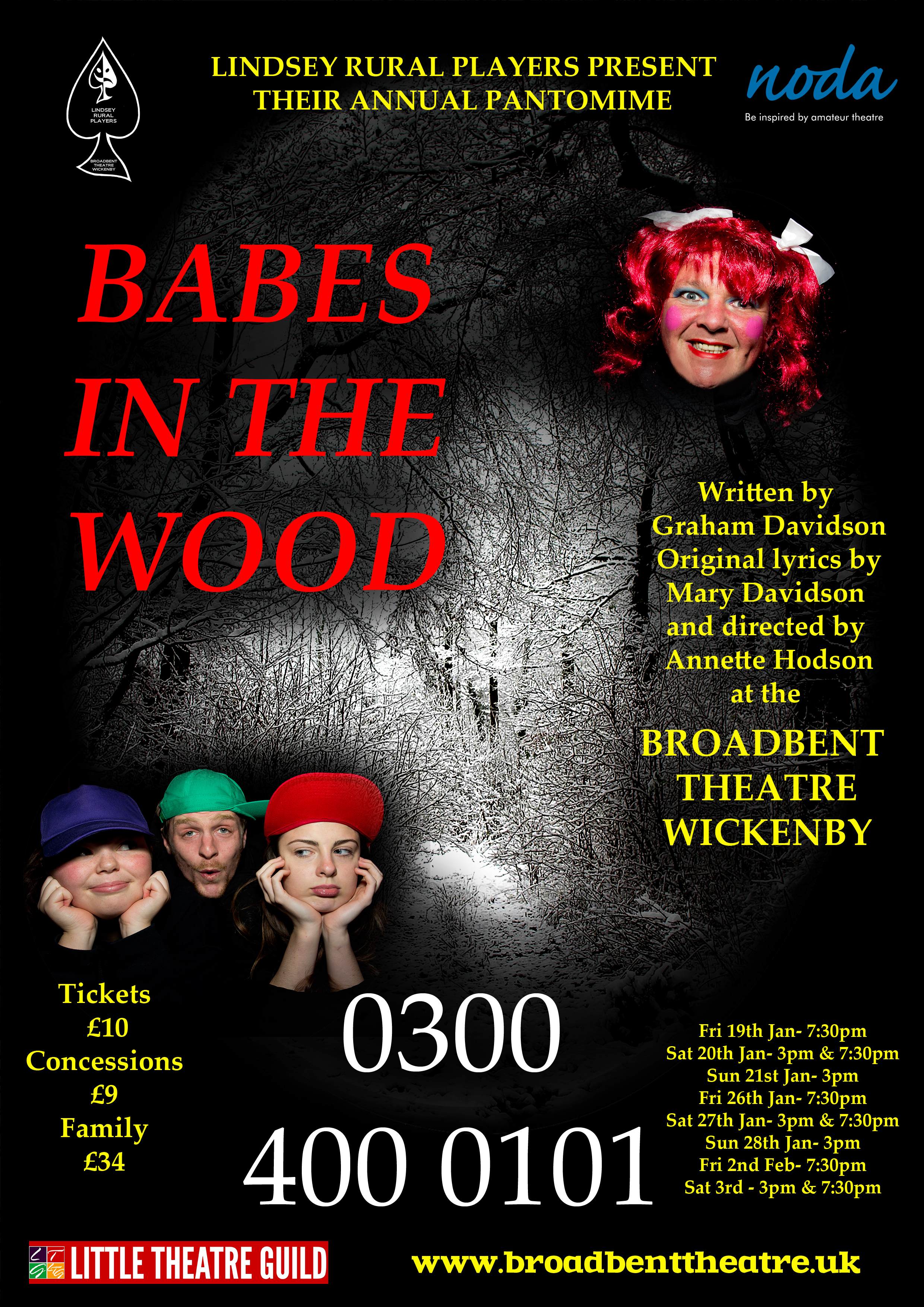 What\u0027s On? | The Broadbent Theatre